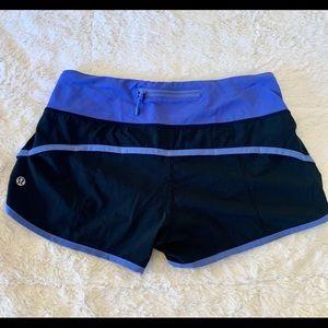 lululemon athletica Shorts - Lululemon speed shorts 4-way size 4